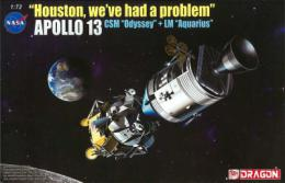 DRAGON 1/72 Apollo 13 CSM + LM Houston, we´ve had a problem