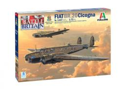 ITALERI 1/72 Fiat BR-20M Cigogna Battle of Britain