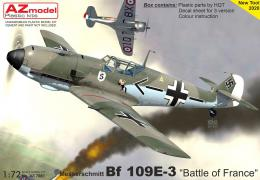 AZ MODEL 1/72 Bf 109E-3 Battle of France