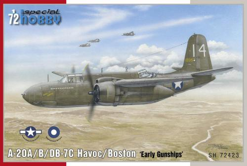 1/72 A-20B/C Boston Havoc Gunships (USAAF, RAAF)