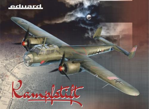 LIMITED 1/48 Kampfstift Do-17Z ICM