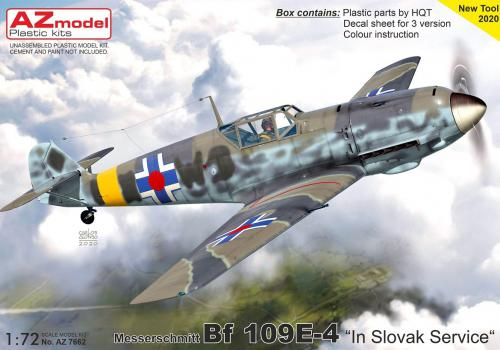 1/72 Bf 109E-4 In Slovak Service