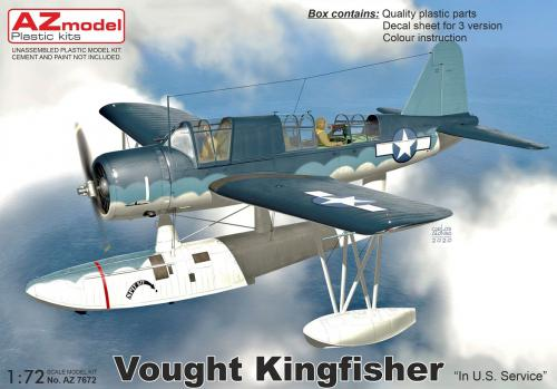 1/72 Kingfisher In U.S. Service