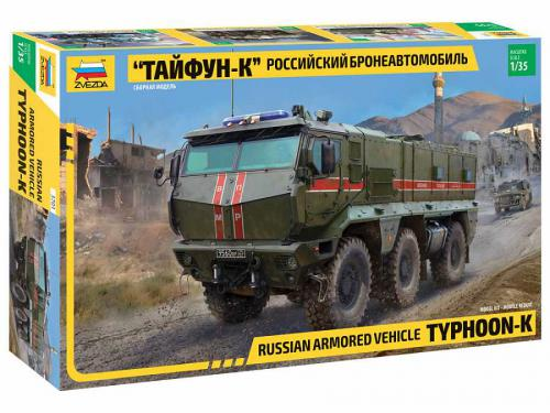 ZVEZDA 1/35 yphoon-K 6X6 Armoured Vehicle