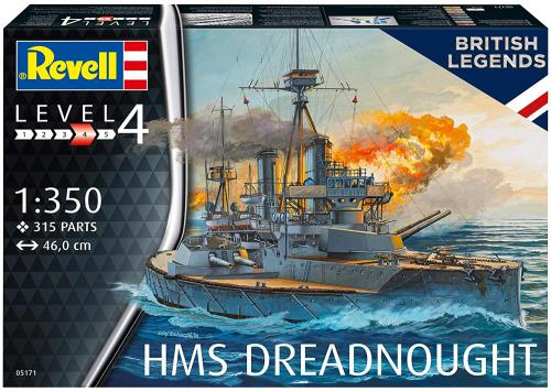 REVELL 1/350 HMS Dreadnought