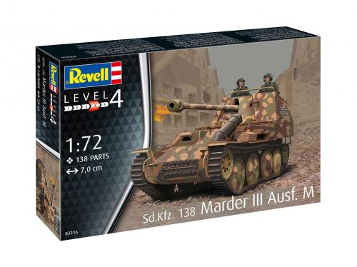 REVELL 1/72 Sd. Kfz. 138 Marder III Ausf. M