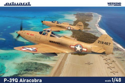EDUARD WEEKEND 1/48 P-39Q Airacobra