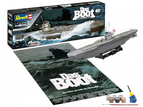 REVELL 1/144 DAS BOOT - 40th Anniversary U-96
