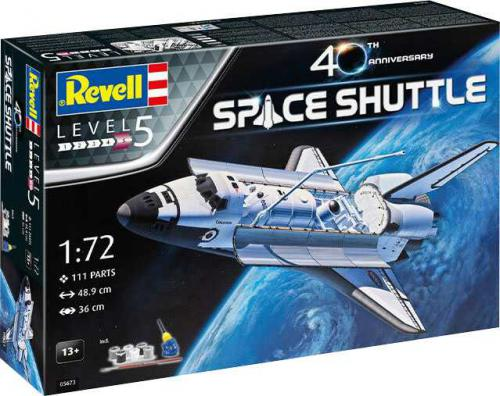 REVELL 1/72 Space Shuttle - 40th Anniversary Gift Set