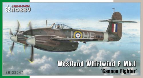 SPECIAL HOBBY 1/32 Westland Whirlwind Mk.I Cannon Fighter