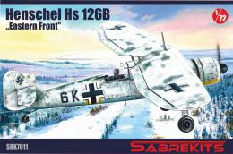 SABRE 1/72 Hs 126 in Eastern front