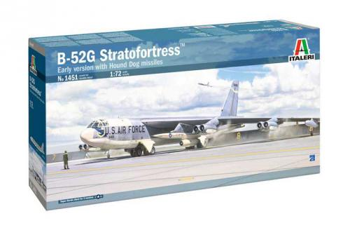 ITALERI 1/72 B-52G Stratofortress Early version with Hound Dog Missiles