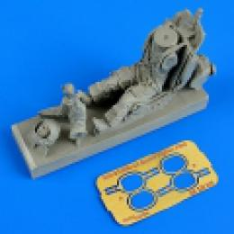 1/32 Soviet fighter pilot w/ eject.seat MiG-21/23