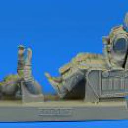 1/32 US Navy Pilot for A-4 with eject.seat (TRUMP)