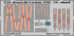 EDUARD Fotolepty 1/32 Mosquito Mk.VI Seatbelts for TAM
