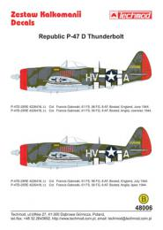 TECHMOD 1/48 Republic P-47D Thunderbolt