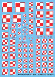 TECHMOD 1/48 Polish National Insignias