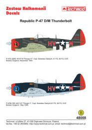 TECHMOD 1/48 Republic P-47 D/M Thunderbolt
