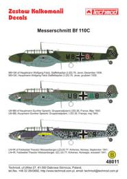 TECHMOD 1/48  Messerschmitt Bf-110C