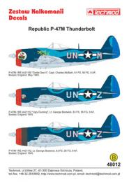 TECHMOD 1/48 Republic P-47M Thunderbolt