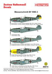 TECHMOD 1/48 Messerschmitt Bf-109E-3