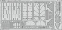 EDUARD Lepty SET 1/48 He 111H-3 undercarriage (ICM)