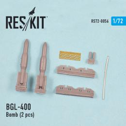 RESKIT 1/72 BGL-400 Laser guided bomb (2 pcs.)