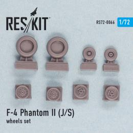 RESKIT 1/72 F-4 Phantom II (J,S) wheels set for ESC, ITA