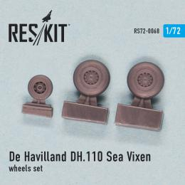 RESKIT 1/72 DH.110 Sea Vixen wheels set MPM