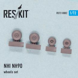RESKIT 1/72 NHI NH90 wheels set for REV