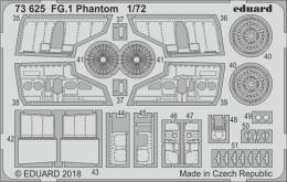 EDUARD Lepty SET 1/72 FG.1 Phantom for AIR