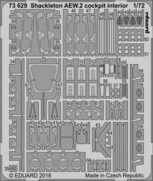 EDUARD Lepty Set 1/72  Shackleton AEW.2 cokpit interior for AIR