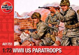 AIRFIX 1/72 Us Paratroops WWII