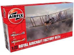 AIRFIX 1/72 Royal Aircraft Factory BE2c Scout