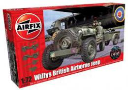 AIRFIX 1/72 Willis Jeep,Trailer