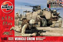 AIRFIX 1/48 Vehicle Crew British Modern