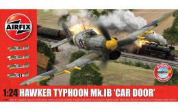 AIRFIX 1/24 Hawker Typhoon Mk.Ib Car Door w/Luftwaffe Decals