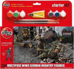 AIRFIX 1/32 WWII German Infantry Gift Set