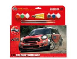 AIRFIX 1/32 Mini Countryman WRC Start Set