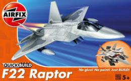AIRFIX 6005 Quickbuild F-22