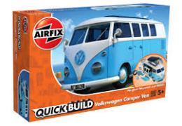 AIRFIX 6024 Quickbuild VW Camper Blue