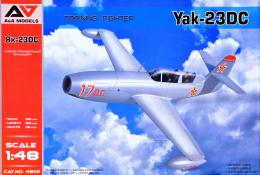 A+A Models 1/48 Yak-23DC Training Fighter (Romanian AF, 1956)