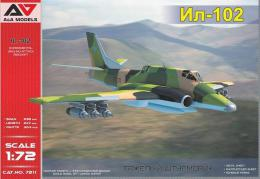 A&A MODEL 1/72 IL-102 Experimental ground-attack aircraft