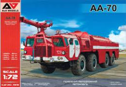 A+A Models 1/72 AA-70 Airport Firefighting truck