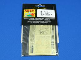 ABER 1/35  35-053 Panther Ausf.F & Panther II for DRA