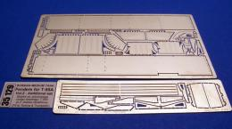 ABER 1/35  35-129 Fenders for Russian medium tank T-55A - vol. 2 - additional set for TAM