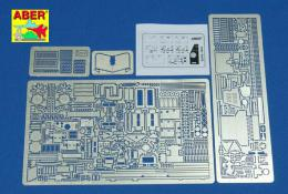ABER 1/35 35-159 Armoured personnel carrier Sd.Kfz. 250/3 Greif - vol.1 - basic set for DRA
