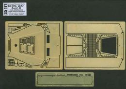 ABER 1/35  35-171 Armoured personnel carrier Sd.Kfz. 251/1 Ausf. D - vol. 5 - additional set - upper standard armour for DRA
