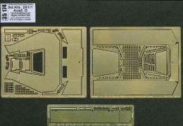 ABER 1/35 35-174  Armoured personnel carrier Sd.Kfz. 251/1 Ausf. D - vol. 8 - additional set - upper armour, late for DRA