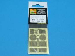 ABER 1/35 35G01 Grilles for german tank Grilles for PzKpfw V Ausf.A/D Panther (Sd.Kfz.181)